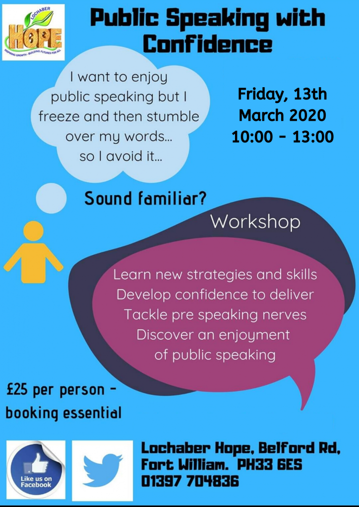 Public Speaking with Confidence Training Session at ...